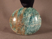 Madagascan Apatite Freeform Palm Stone - 60mm, 140g