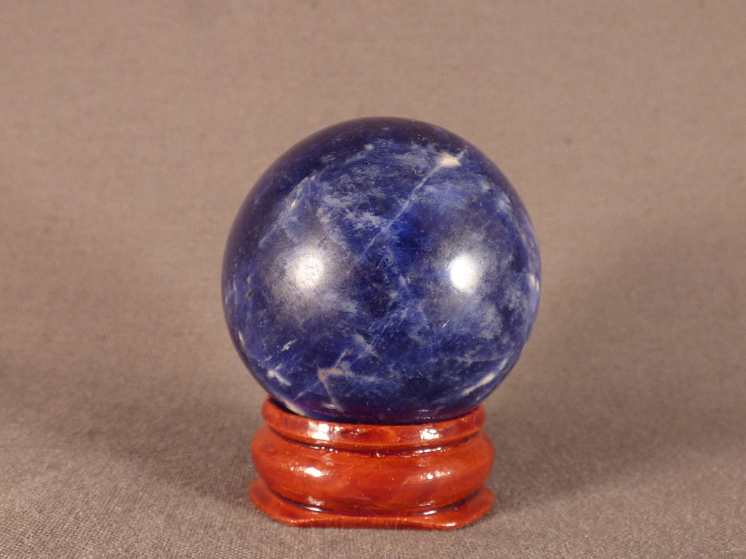 Small Namibian Sodalite Sphere - 38mm, 64g