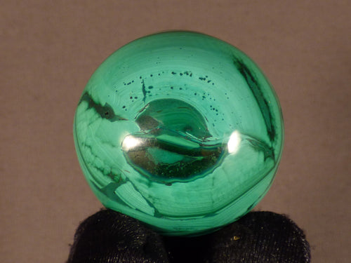 Small Congo Malachite Sphere - 35mm, 78g