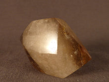 Polished Zambian Citrine Double Terminated Crystal Point - 52mm, 47g