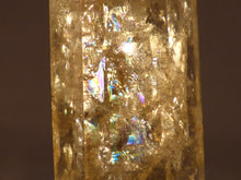 Polished Zambian Rainbow Citrine Double Terminated Crystal Point - 64mm, 18g