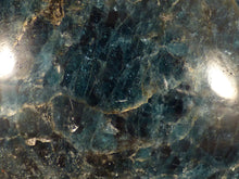 Madagascan Apatite Freeform Palm Stone - 62mm, 172g