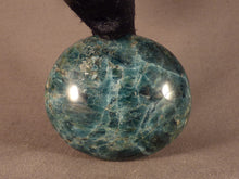 Madagascan Apatite Freeform Palm Stone - 61mm, 161g