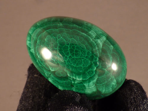 Small Congo Malachite Egg - 40mm, 62g