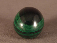 Small Congo Malachite Egg - 38mm, 57g