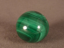 Small Congo Malachite Egg - 38mm, 55g