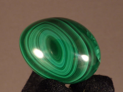 Small Congo Malachite Egg - 35mm, 46g