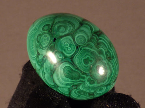 Small Congo Malachite Egg - 34mm, 43g