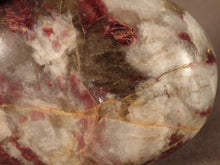 Madagascan Eudialyte Freeform Palm Stone - 65mm, 84g