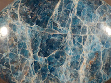 Madagascan Apatite Freeform Palm Stone - 51mm, 71g