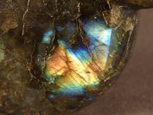 Polished Madagscan Labradorite Heart Carving - 112mm, 504g