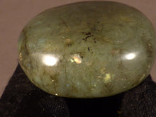 Madagascan Labradorite Freeform Palm Stone - 41mm, 58g