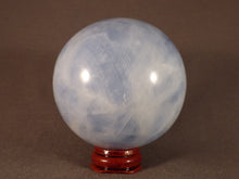 Madagascan Blue Calcite Sphere - 74mm, 575g