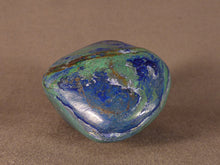 Polished Congo Azurite & Malachite Freeform - 45mm, 132g