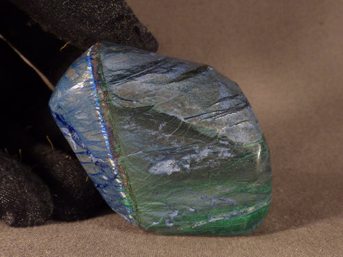 Polished Congo Azurite Freeform - 55mm, 115g
