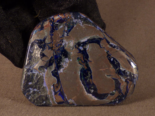 Polished Congo Azurite Freeform - 64mm, 77g