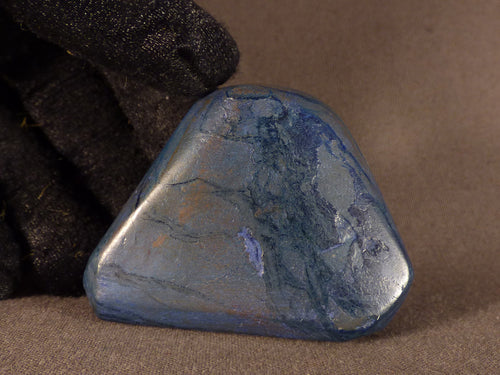 Polished Congo Azurite Freeform - 48mm, 58g