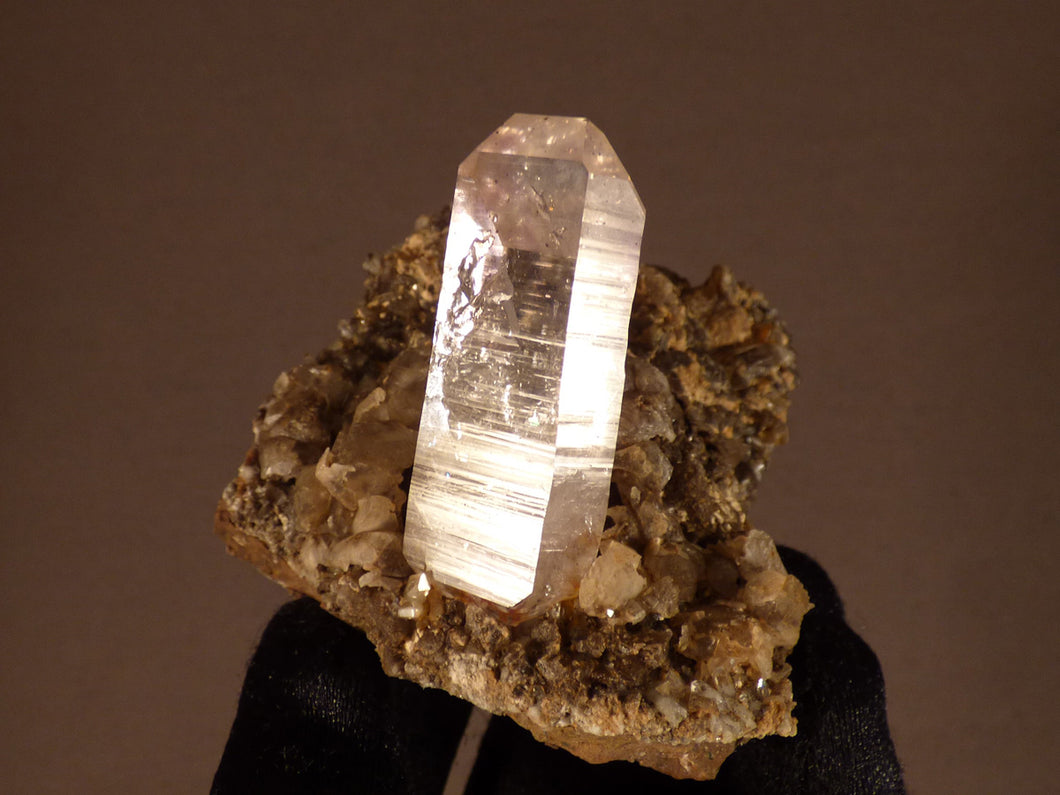 Brandberg Optic Quartz Natural Specimen - 51mm, 81g