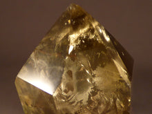 Polished Zambian Golden Rainbow Citrine Double Terminated Crystal - 74mm, 72g