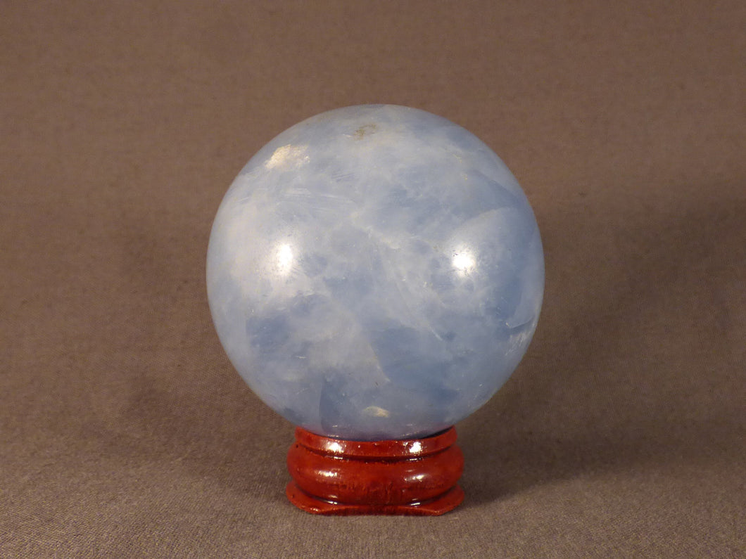 Madagascan Blue Calcite Sphere - 50mm, 235g