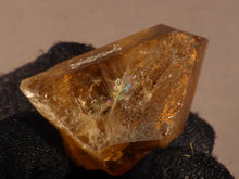 Natural Congo Rainbow Citrine Crystal Point - 30mm, 12g