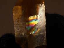 Natural Congo Golden Rainbow Citrine Crystal Point - 25mm, 5g