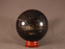 Madagascan Morion Rainbow Smoky Quartz Sphere - 65mm, 484g