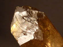 Natural Congo Rainbow Citrine Crystal Point - 47mm, 38g