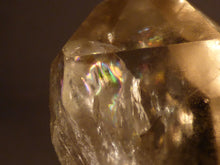 Congo Rainbow Citrine Crystal Point - 27mm, 21g