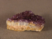 Natural Kwaggafontein Spirit Amethyst Crystal Plate - 48mm, 32g