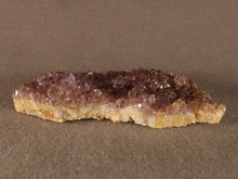 Natural Kwaggafontein Spirit Citrine Amethyst Crystal Plate - 58mm, 28g