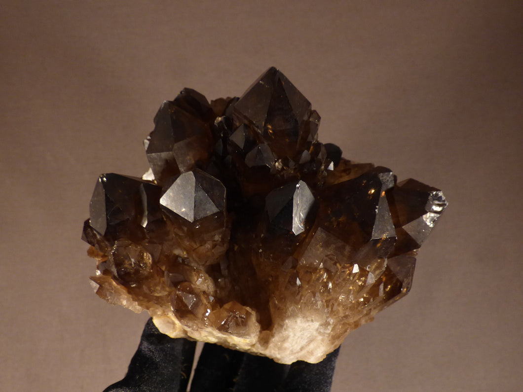 Large Natural Congo Smoky Citrine Crystal Cluster - 117mm, 1022g