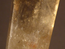 Polished Zambian Rainbow Citrine Standing Crystal Point - 63mm, 23g