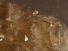 Natural Rainbow Congo Citrine Cluster Crystal Point - 76mm, 149g