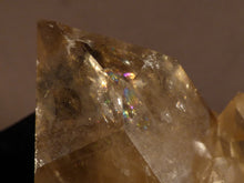 Natural Rainbow Congo Citrine Cluster Crystal Point - 63mm, 94g