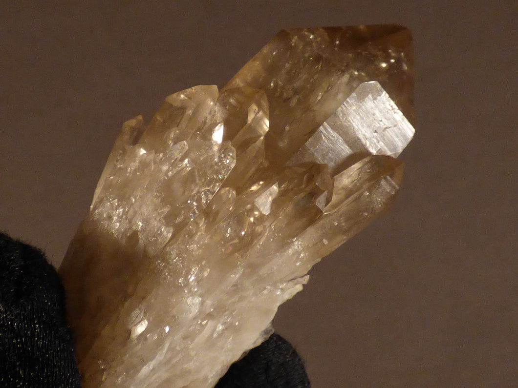 Natural Congo Citrine Cluster Crystal Point - 65mm, 65g