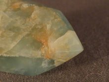 Polished Angola Aquamarine Standing Crystal Point - 37mm, 24g