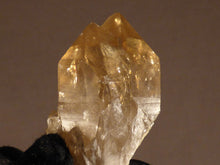 Natural Rainbow Congo Citrine Cluster Crystal Point - 48mm, 51g