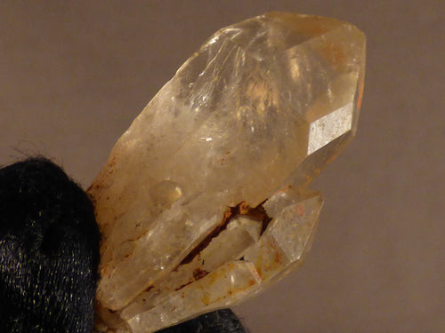 Natural Congo Citrine Crystal Point - 41mm, 19g
