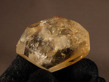 Polished Zambian Natural Citrine Double Terminated Crystal Point - 32mm, 22g