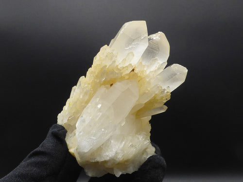 Natural Madagascan Candle Quartz Cluster - 95mm, 404g