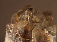 Natural Congolese Rutilated Smoky Asylum Quartz Cluster - 68mm, 106g