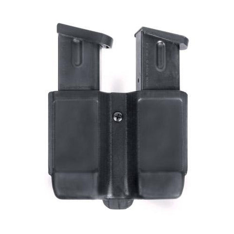 Blackhawk - Dbl Mag Case-Sngl Row-Mt Fnsh 9 mm- 10mm-.40 Cal- .45 Cal