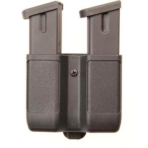 Blackhawk - Dbl Mag Case-Dbl Row- Mt Fnsh 9 mm-.40 Cal- .45 Cal