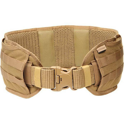 Blackhawk - Enhanced Padded Patrol Belt-LG Coyote Tan