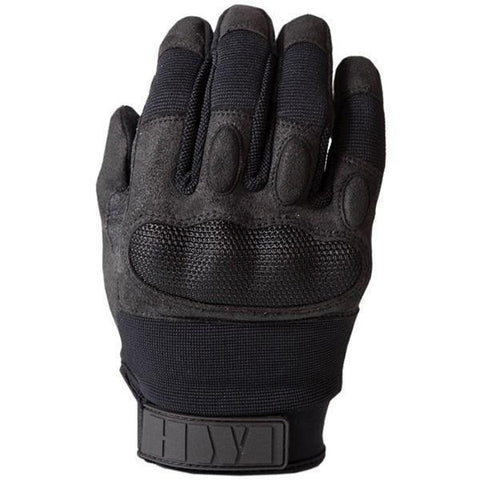 HWI Gear, Inc - Touchscreen Hard Knuckle Glove, Clarino Synthetic Leather, Black, 2XL