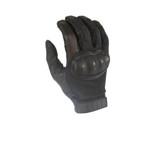 HWI Gear, Inc - Touchscreen Hard Knuckle Glove, Clarino Synthetic Leather, Black, XL