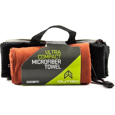 "McNett Products - Outgo Microfiber Towel, Terra Cotta, Large 30""x50"""
