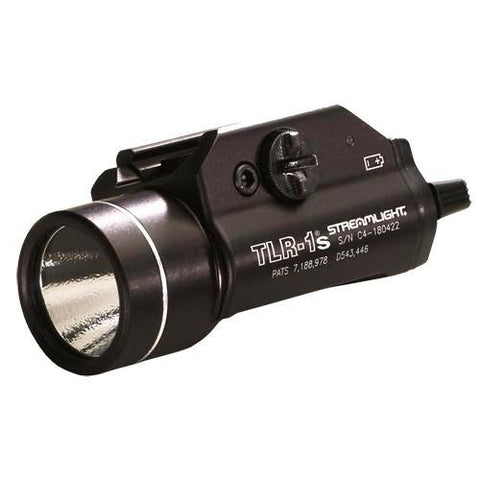 Streamlight - TLR-1®s LED Rail Mounted Flashlight with Strobe, (2) CR123A