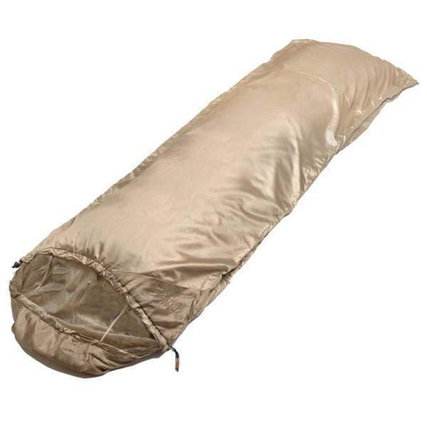 "Snugpak - Jungle Bag, 86""x60"" Sleeping Bag, Right Hand Zip, Tan"